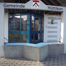 1999 Hüttikon, Brunnen Gemeindehaus