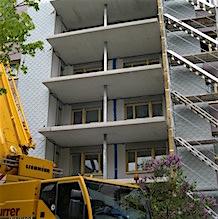 2010 Bassersdorf, Auenring 33-37, Balkonerweiterung SILU 4
