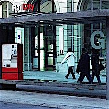 2011 Winterthur, Wartehäuser Bushaltestelle